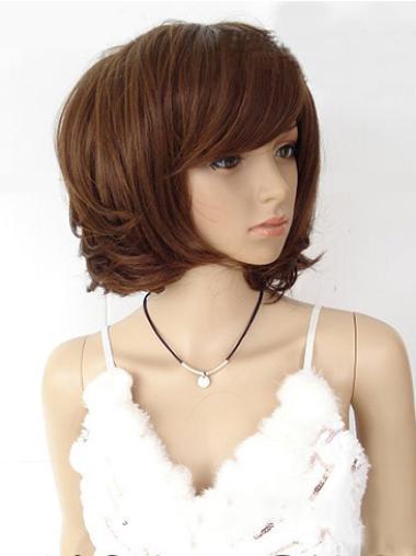 Affordable Auburn Straight Chin Length Wigs
