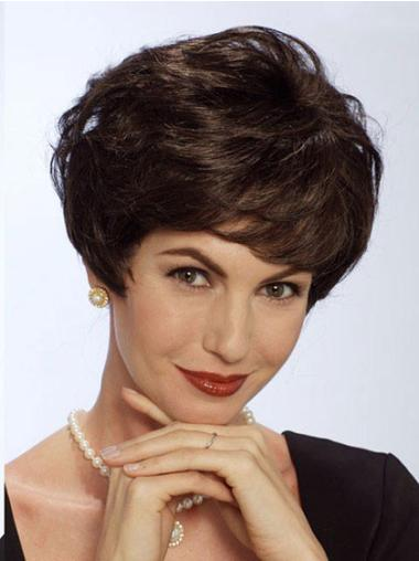 Nice Lace Front Straight Short Classic Wigs