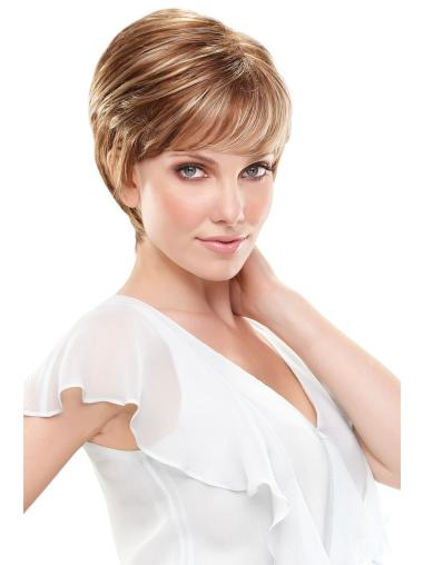 Lace Front Gentle Boycuts Straight Short Wigs