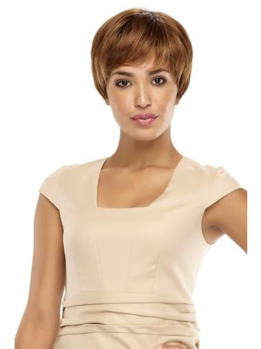 Lace Front Boycuts Stylish Straight Short Wigs