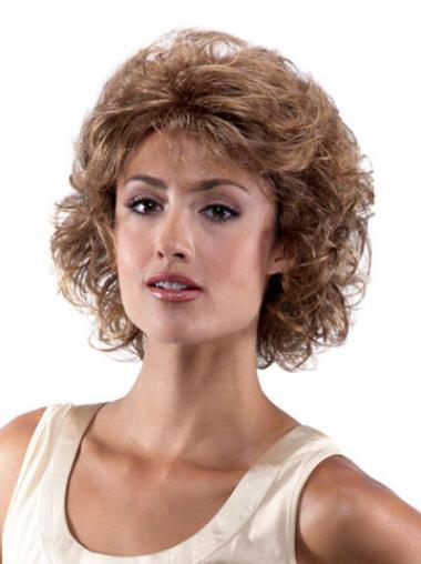 Soft Lace Front Curly Chin Length Classic Wigs