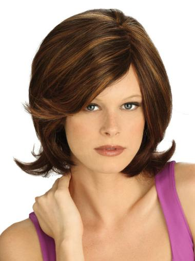 Lace Front Great Straight Synthetic Medium Wigs