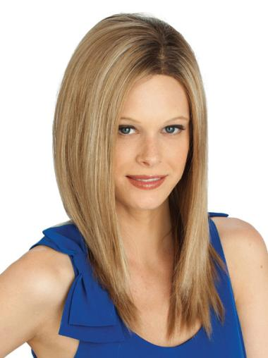 Blonde Lace Front Synthetic No-fuss Wigs For Cancer