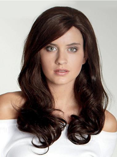 Style Auburn Wavy Synthetic Long Wigs