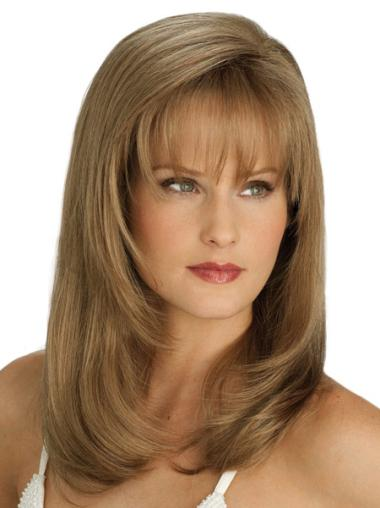 Synthetic Lace Front Blonde New Long Wigs