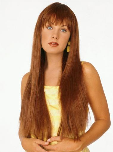 Hairstyles Auburn Straight Synthetic Long Wigs