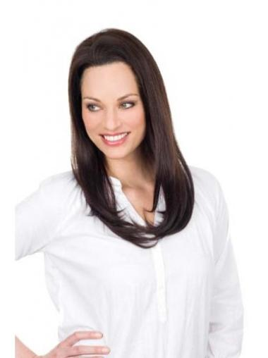 Fabulous Remy Human Hair Lace Front Straight Long Wigs