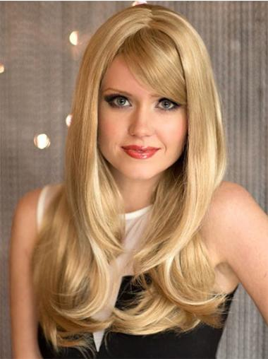 Blonde Wavy Synthetic Sassy Long Wigs