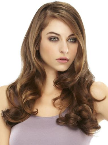 Cheap Auburn Wavy Long Hair Falls & Half