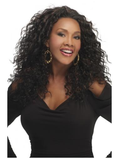 Lace Front Curly Synthetic Braw Long Wigs