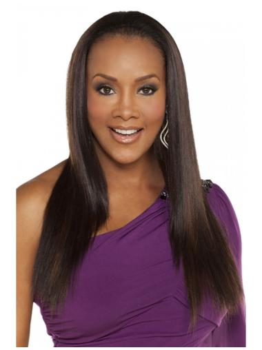 Best Brown Straight Long Human Hair Wigs & Half Wigs