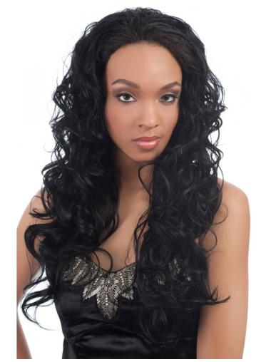 Best Black Wavy Long Human Hair Wigs & Half Wigs