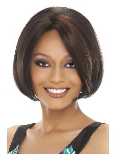 Lace Front Popular Straight Short Wigs