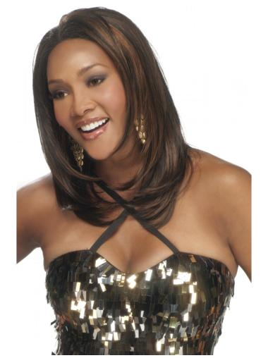 Easeful Lace Front Straight Long Remy Human Lace Wigs