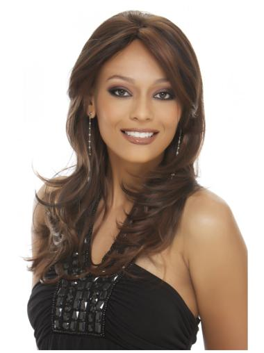 Cosy Lace Front Wavy Long Remy Human Lace Wigs