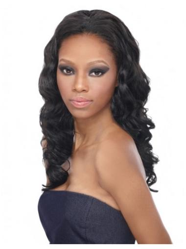 Radiant Black Curly Long Human Hair Wigs & Half Wigs