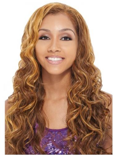 Suitable Auburn Curly Long Human Hair Wigs & Half Wigs