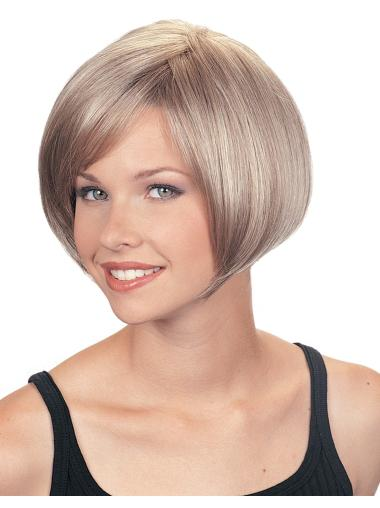 Comfortable Straight Short Wigs