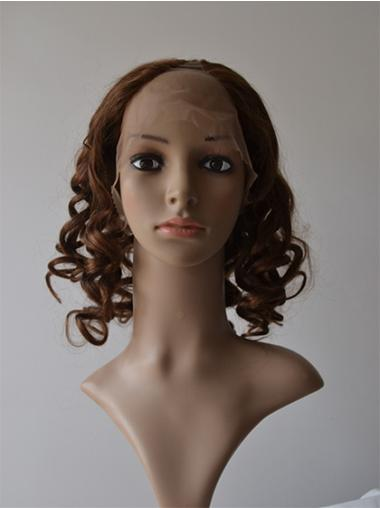 Nice Lace Front Curly Shoulder Length U Part Wigs