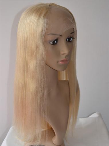 Cosy Blonde Lace Front Long U Part Wigs
