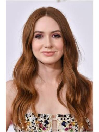 "20"" Lace Front Layered Brown Top Karen Gillan Wigs"