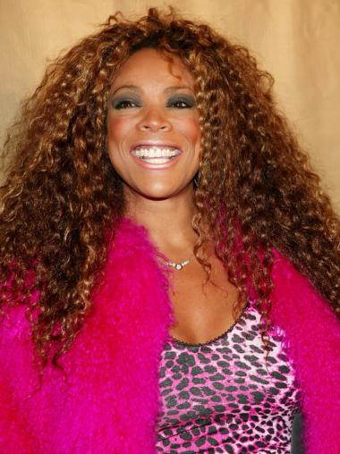 Long Kinky Curly Wendy Williams Wigs Without Bangs
