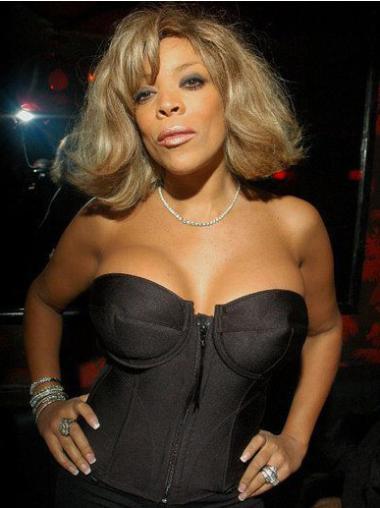 "Wendy Williams 12"" Wavy Short Remy Human Hair"