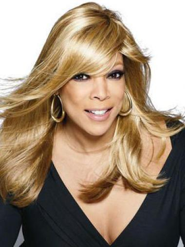 """Wendy Williams 18"""" Straight Long Remy Human Hair"""