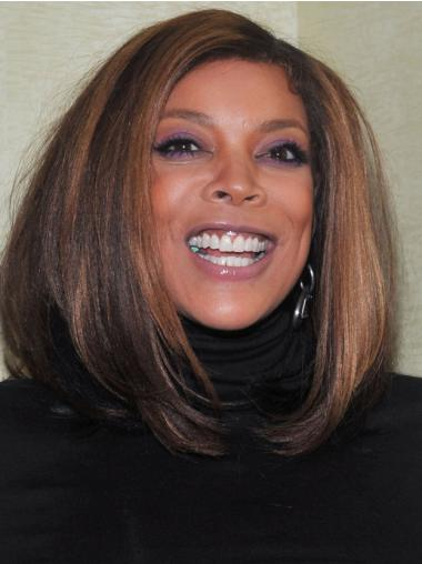 "Wendy Williams 16"" Straight Shoulder Length Remy Human Hair"
