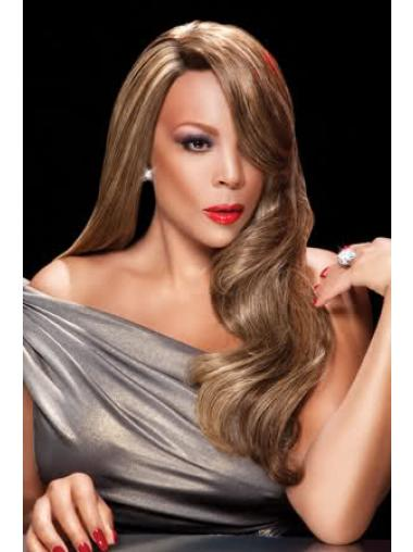 24 Inch Remy Lace Front Wendy Williams Wavy Wigs African