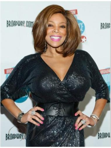 Wendy Williams Attractive Hairstyle Wig 100 Human Hair 12 Inches