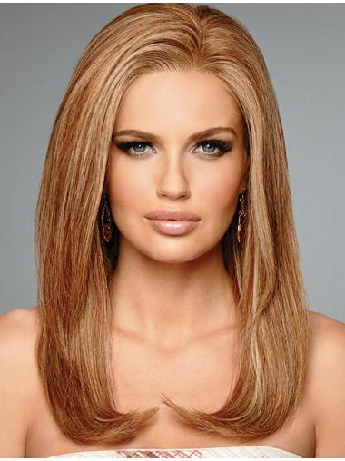 "100% Hand-tied Straight 16"" Long 100% Human Hair"
