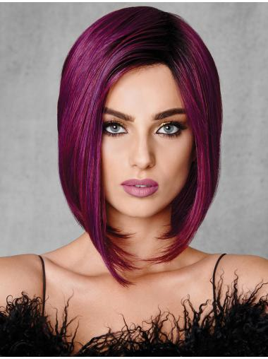 """Ombre/2 Tone Straight Capless Bobs 10"""" High Quality Synthetic Wigs"""
