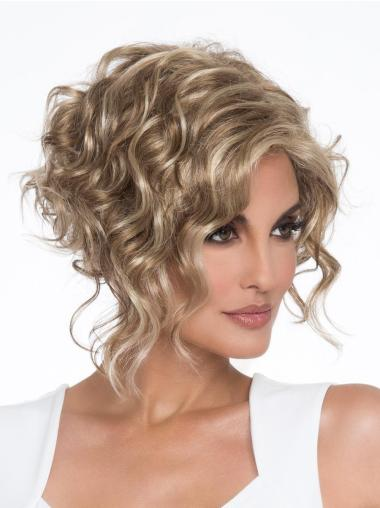 """Capless 6"""" Classic Curly Synthetic Wig"""