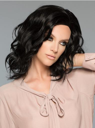 Shoulder Length 100% Hand-Tied Remy Human Hair Human Hair Wigs