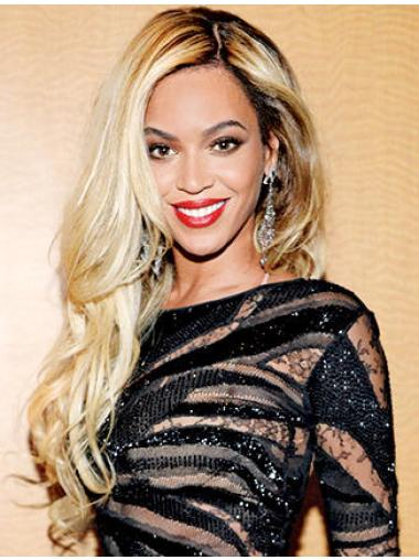 High Quality Long Wavy Blonde Without Bangs Beyonce