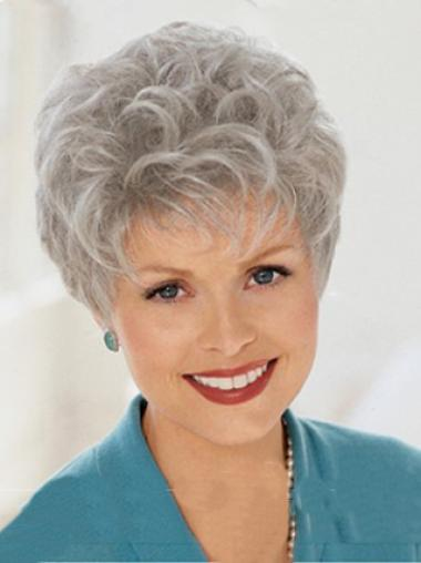 Grey Lady Elegent Beautiful Wigs
