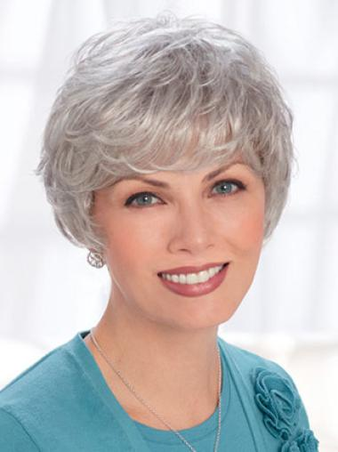 Silver Lady 8 Inches Lace Front Wigs