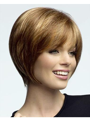 Blonde Flexibility Lace Front Synthetic Medium Wigs
