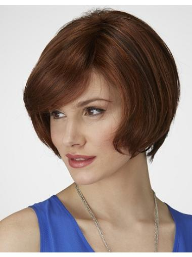 Ideal Synthetic Auburn Lace Front Medium Wigs