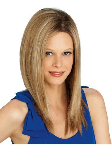 Blonde Wavy Synthetic Trendy Long Wigs