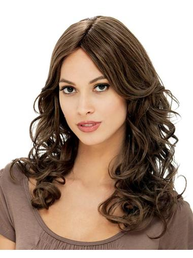 Discount Brown Curly Long Petite Wigs