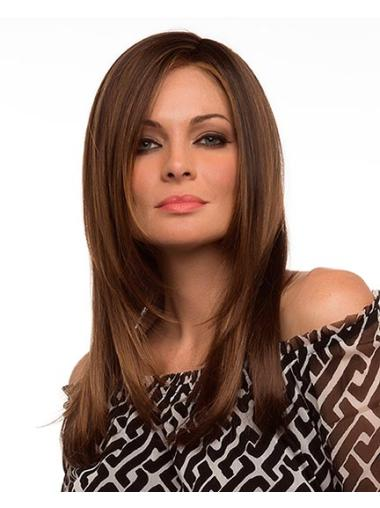 Fabulous Synthetic Lace Front Straight Long Wigs