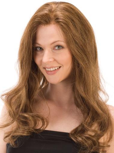 Gentle Remy Human Hair Monofilament Wavy Long Wigs