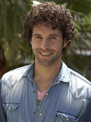 Durable Curly Capless Short Men Wigs