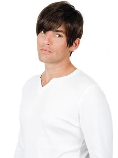 Stylish Straight Full Lace Short Men Wigs