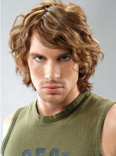 Best Curly Full Lace Short Men Wigs