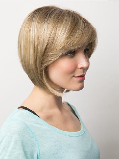 """Amazing 10"""" Straight Bobs Synthetic Wigs"""