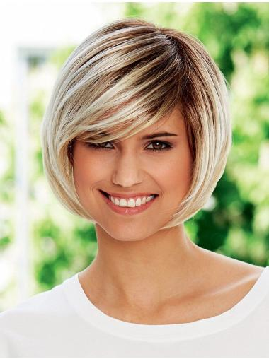 "8"" Straight High Quality Synthetic Bob Wigs"