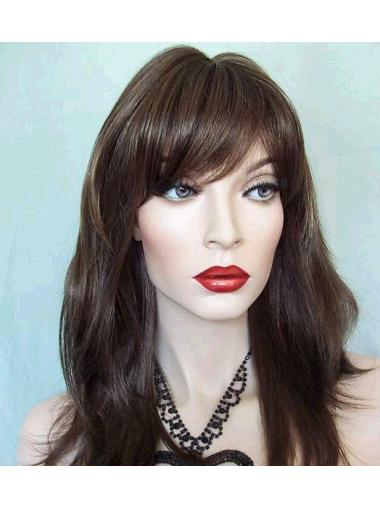 Lace Front Straight Synthetic Fashionable Long Wigs